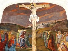 Kalvarienbergkirche - Blick zum Kreuz