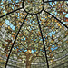 Tiffany Art Glass Dome – Driehaus Museum, Magnificent Mile, East Erie Street, Chicago, Illinois, United States