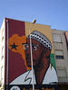 Amílcar Cabral mural.
