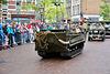 Leidens Ontzet 2017 – Parade – Tracked vehicle