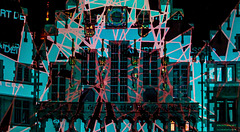 Frankfurt - Luminale 2018: The Town Hall in Colours