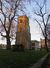 st augustine's church tower, hackney