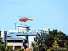 Hamilton Hospital Helicopter.