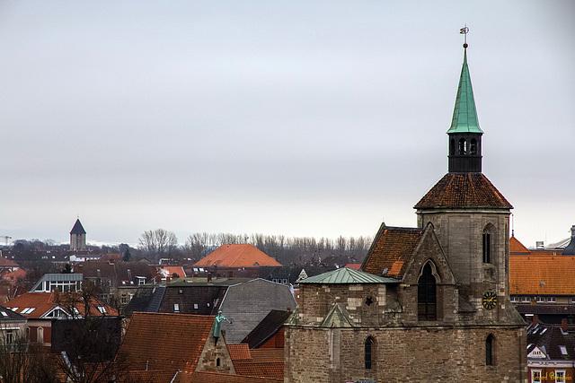 Über den Dächern des Magniviertels