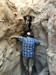 Calcite Mine Slot Canyon Hike (0654)
