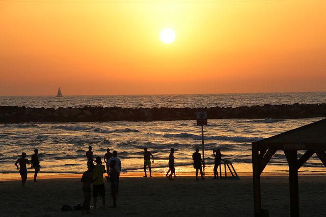 Sunset in Tel Aviv (Explored)