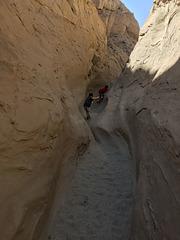 Calcite Mine Slot Canyon Hike (0656)