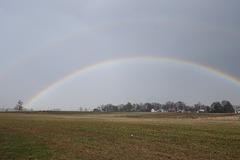 Double Rainbow over the Farm