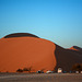 Namibia, The Early Morning at the Dune No45 at the Sossusvlei National Park