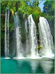 Antalya : Duden waterfall 2