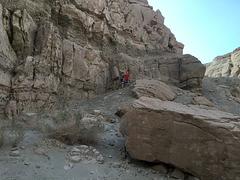 Calcite Mine Slot Canyon Hike (0663)
