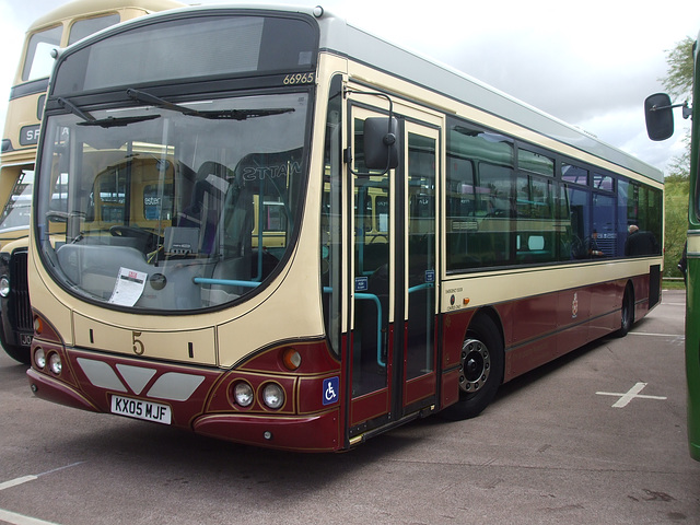 DSCF4788 First Leicester KX05 MJF - 'Buses Festival' 21 Aug 2016