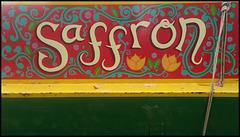 Saffron narrowboat