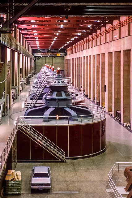 Hoover Dam - Power House - 1986 - HFF!