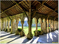 """Cloister of the former Cistercian """"White Abbey"""""""