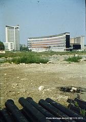 2-esplanade en contruction 1960