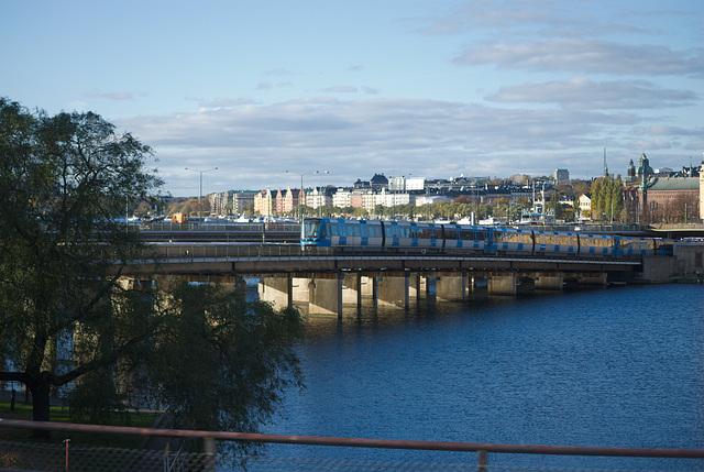 Die Tunnelbanan-Brücke
