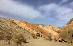 Calcite Mine Slot Canyon Hike (0666)