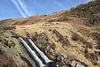 The sky echoes Rhiwagor Falls