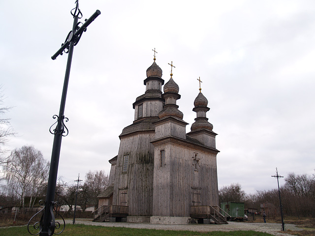 Седнев, Георгиевская церковь XVIII ст. / Sednev, St. George's Church of the XVIII Century