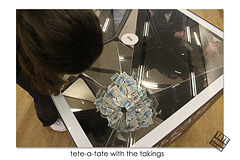 tete-a-tate with the takings - Tate Modern - 12.4.2018