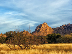 The Dragoon Mountains