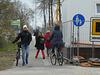zwischenzeitlicher Zustand: Baustelle Rammrathbrücke über den Teltowkanal (Warthestraße in Teltow)
