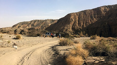 Calcite Mine Slot Canyon Hike (0675)