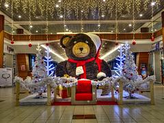 BELFORT: Décoration de Noël....