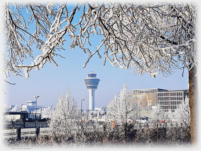 01.01.2017 - Tower Airport München