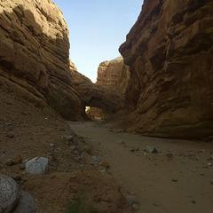 Calcite Mine Slot Canyon Hike (0676)