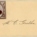 H. E. Grothe—Calling Card with Photograph