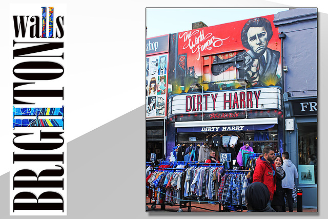 Dirty Harry - Brighton Walls - 31.3.2015