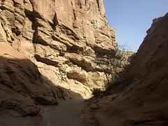 Calcite Mine Slot Canyon Hike (0678)