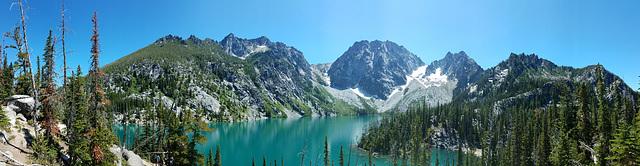 Colchuck Lake and the Enchantments