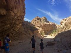 Calcite Mine Slot Canyon Hike (0679)
