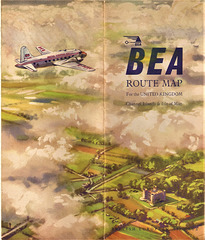 British European Airways...Domestic flights