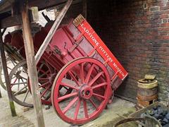 Old transport carts.