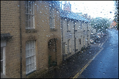 Shrivenham in the rain