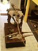 Replica of Dacentrurus armatus skeleton (upper jurassic period).