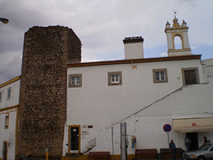 Tower and building of 1697.
