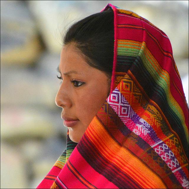 Quichuas Woman profile.