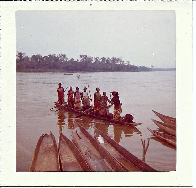 Market ladies, Bandundu, Zaire, 1975