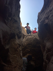 Calcite Mine Slot Canyon Hike (0682)