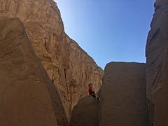 Calcite Mine Slot Canyon Hike (0684)