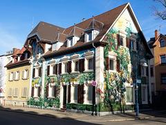 Das Graffiti-Haus in der Freiburg-Wiehre