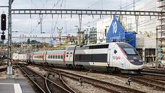 171104 Lausanne TGV LYRIA
