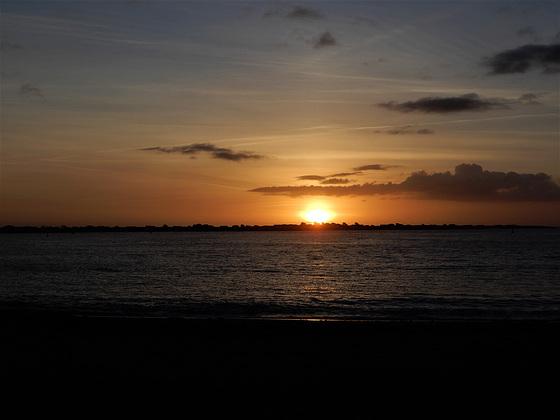 ce matin au lever du soleil