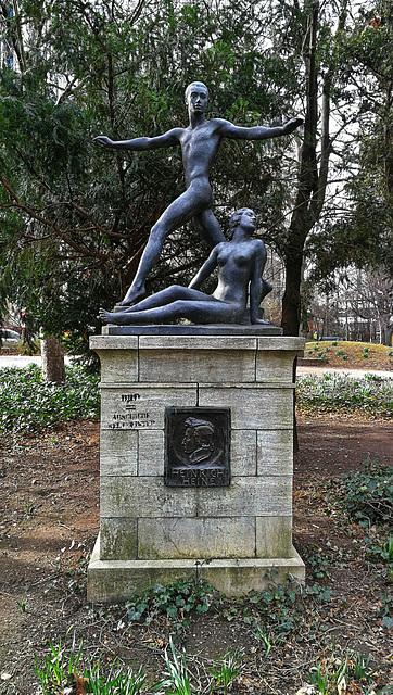 Heinrich Heine Denkmal in Frankfurt am Main