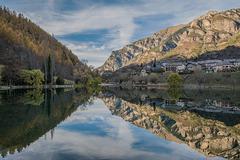 Le lac du Lauzet.